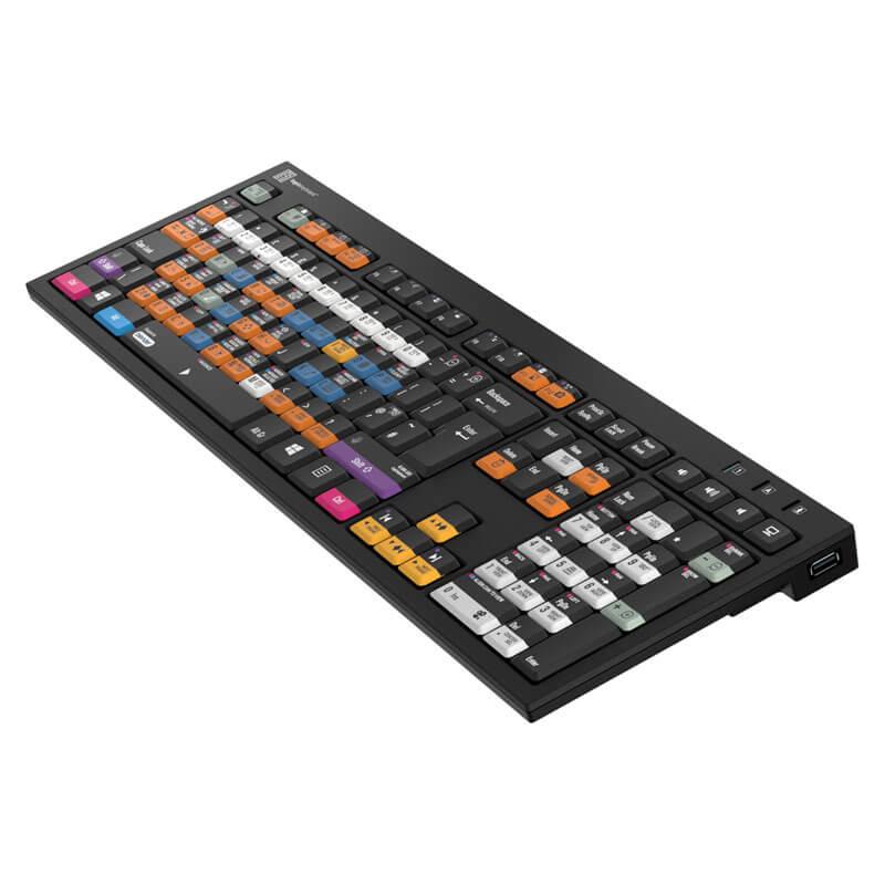 Logickeyboard Blender 3D Keyboard -  Nero Slim Line PC