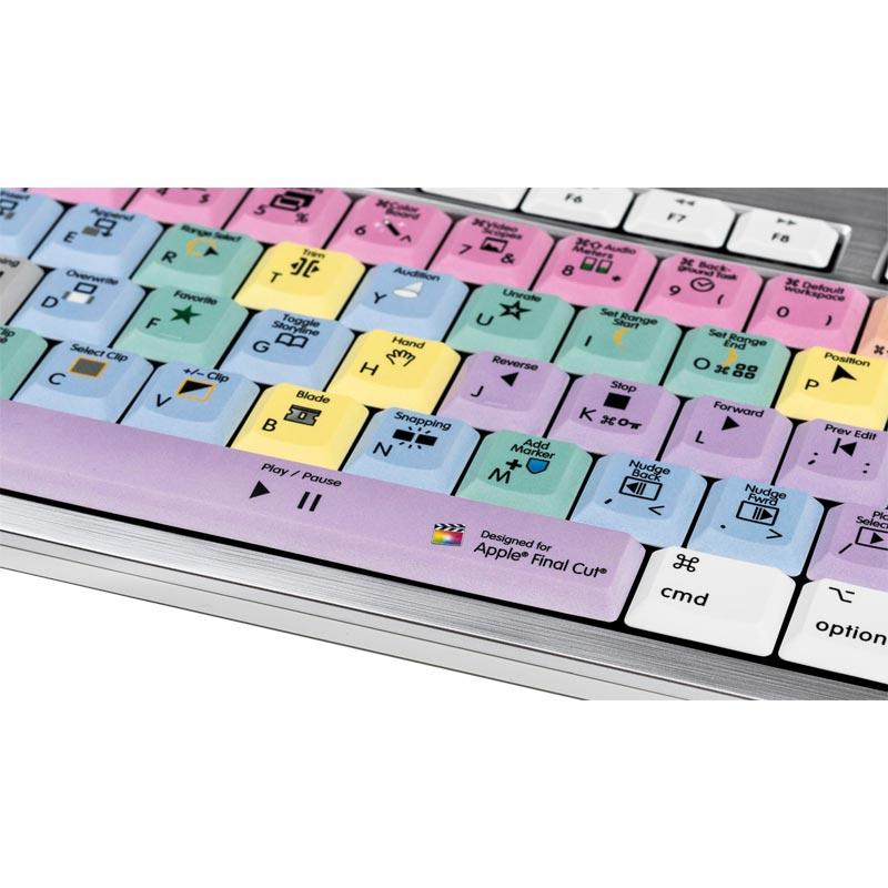 Logickeyboard Final Cut Pro X - Mac Alba