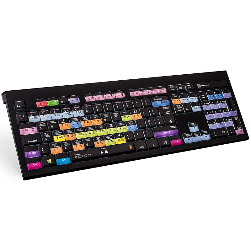 Logickeyboard FL Studio Keyboard - PC Backlit Astra