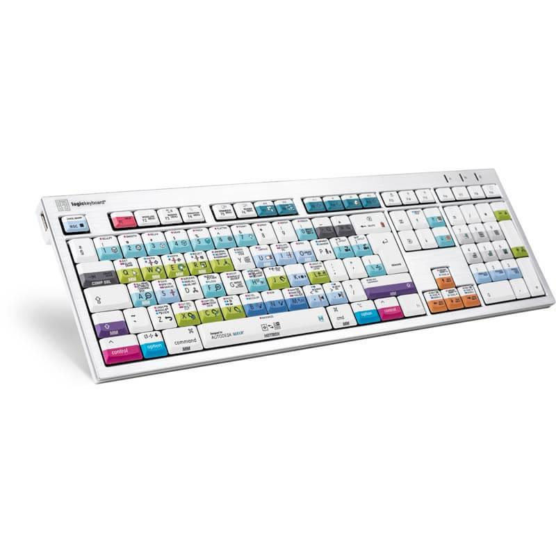 Logickeyboard Maya - Mac Alba