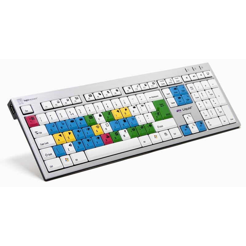 Logickeyboard Liquid Keyboard - PC
