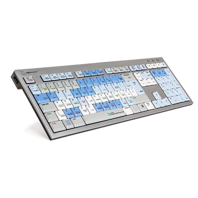 Logickeyboard Smoke - Slim Line PC Keyboard