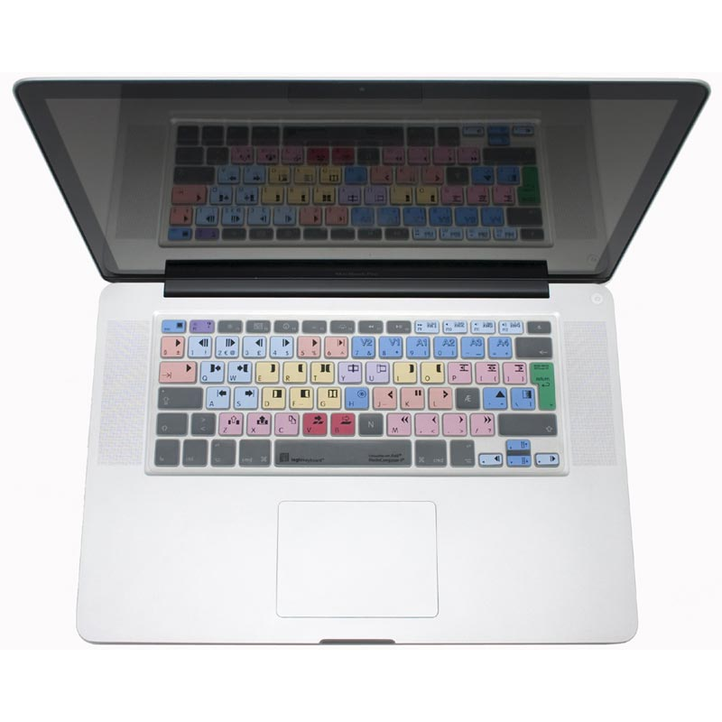 Logickeyboard Media Composer MacBook Skin