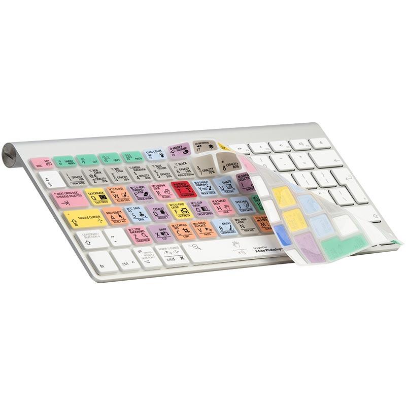 Logickeyboard Photoshop CC MacBook Skin