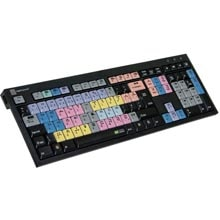 Logickeyboard EDIUS Black Keyboard - PC