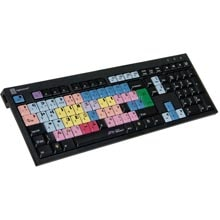 Logickeyboard Media Composer Black Keyboard - PC