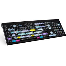 Logickeyboard DaVinci Resolve 15 - Mac Backlit Astra