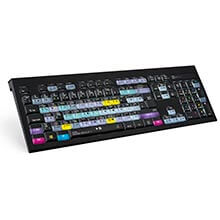 Logickeyboard DaVinci Resolve 17 - PC Backlit Astra
