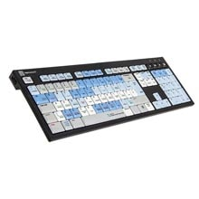 Logickeyboard Smoke Black Keyboard - PC