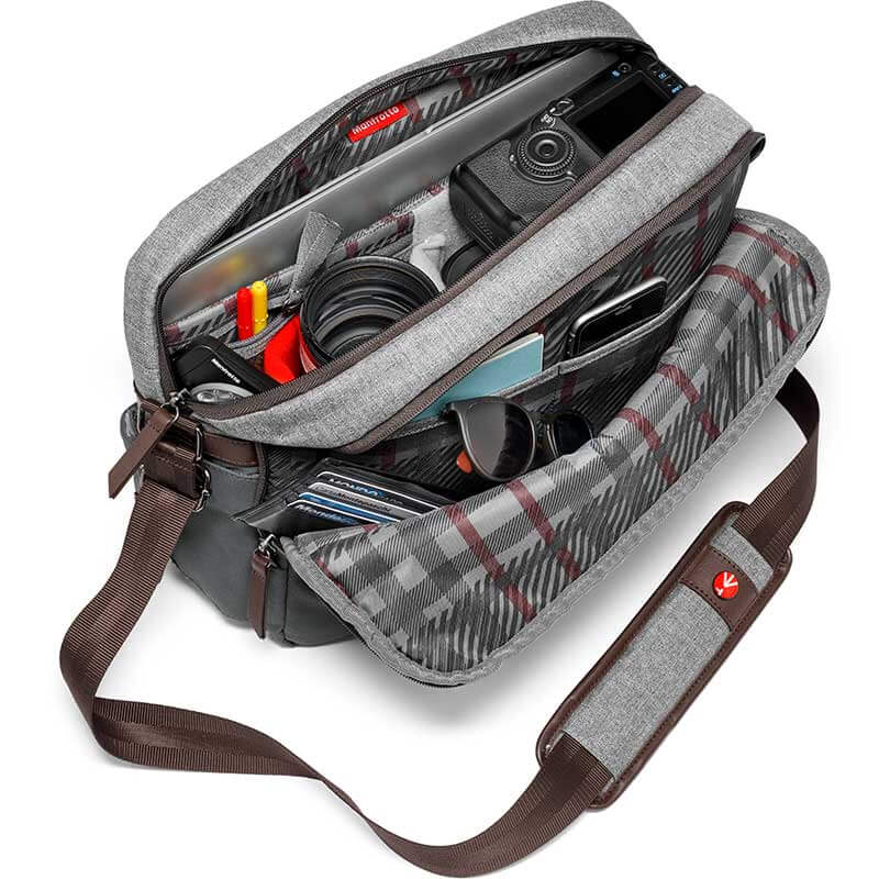 Manfrotto Windsor Camera Reporter Bag for DSLR