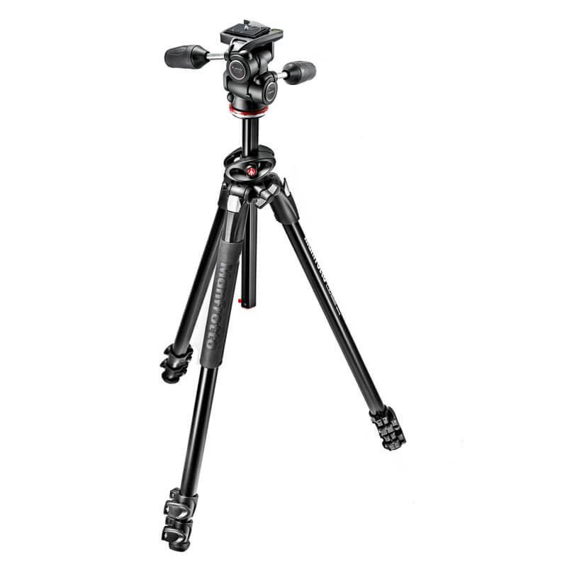Manfrotto 290 DUAL Kit 3 Way Head