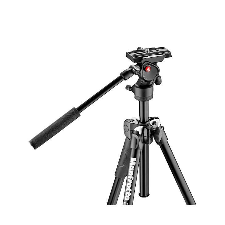 Manfrotto 290 Tripod with befree live fluid video head