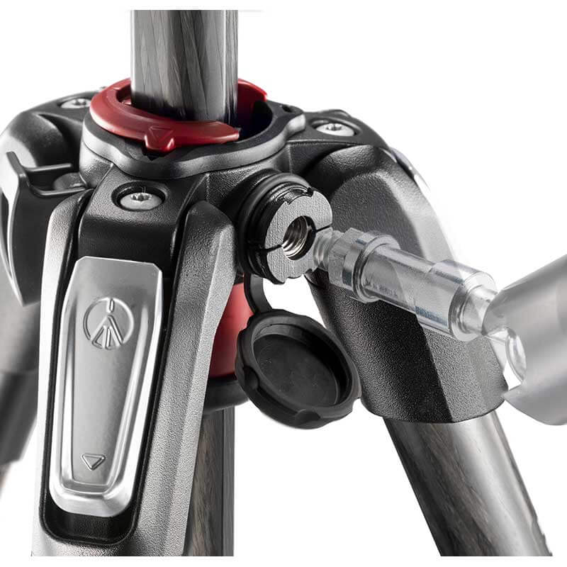 Manfrotto 190 Carbon Fibre 3-Section Camera Tripod