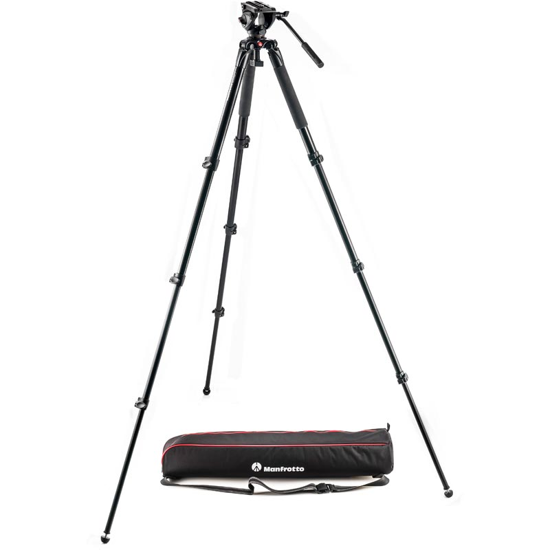 Manfrotto 500 Aluminum Single Leg Video System