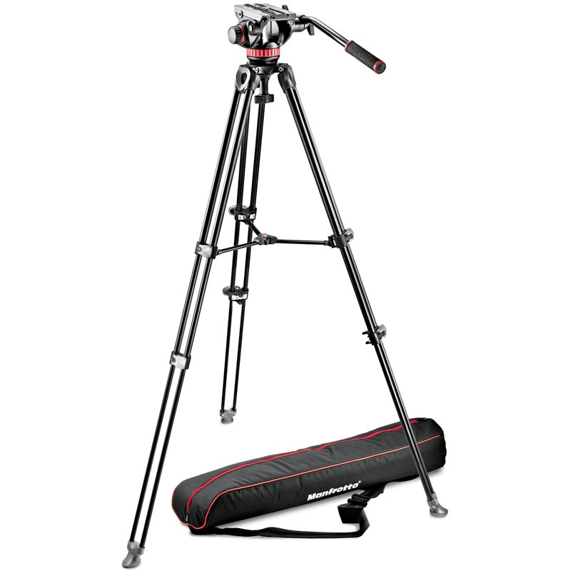 Manfrotto Telescopic Twin Leg Tripod | Video Head