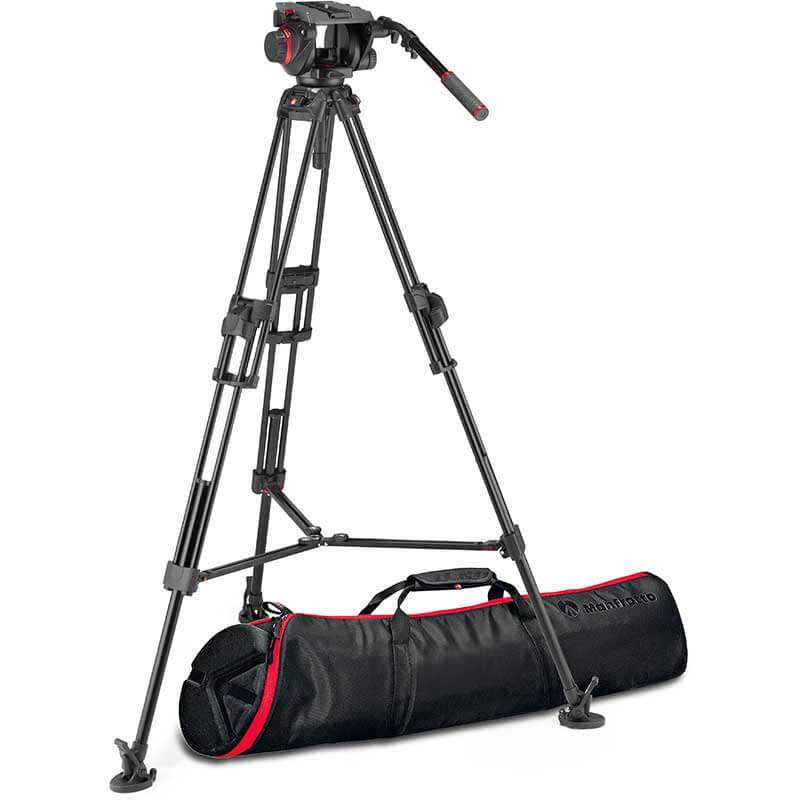 Manfrotto 645 FTT Tripod with 509 Pro Video Head