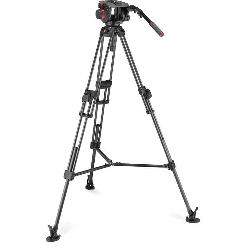 Manfrotto 645 FTT Carbon Tripod with 509 Pro Video Head