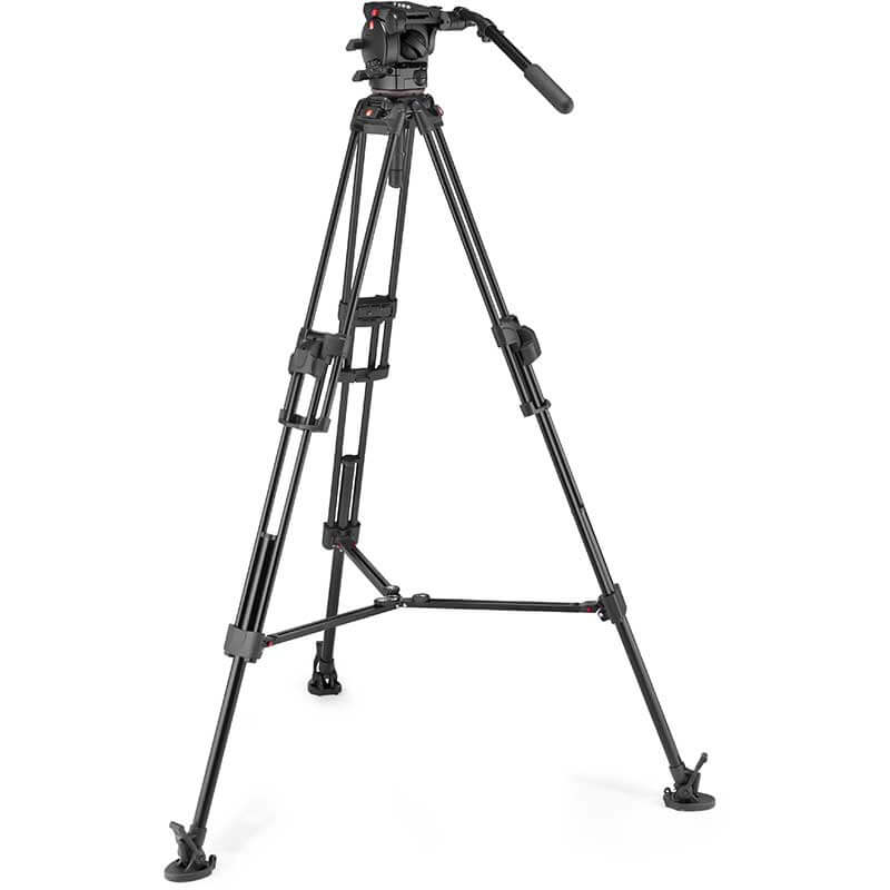 Manfrotto 645 FTT Tripod with 526 Pro Video Head