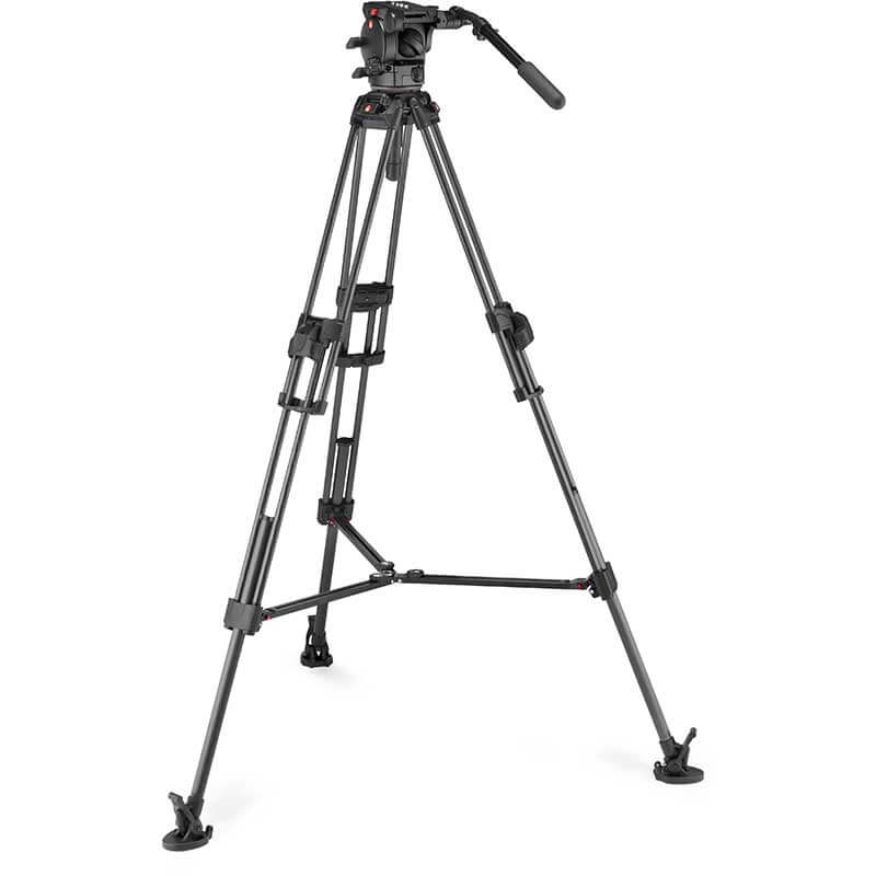 Manfrotto 645 FTT Carbon Tripod with 526 Pro Video Head