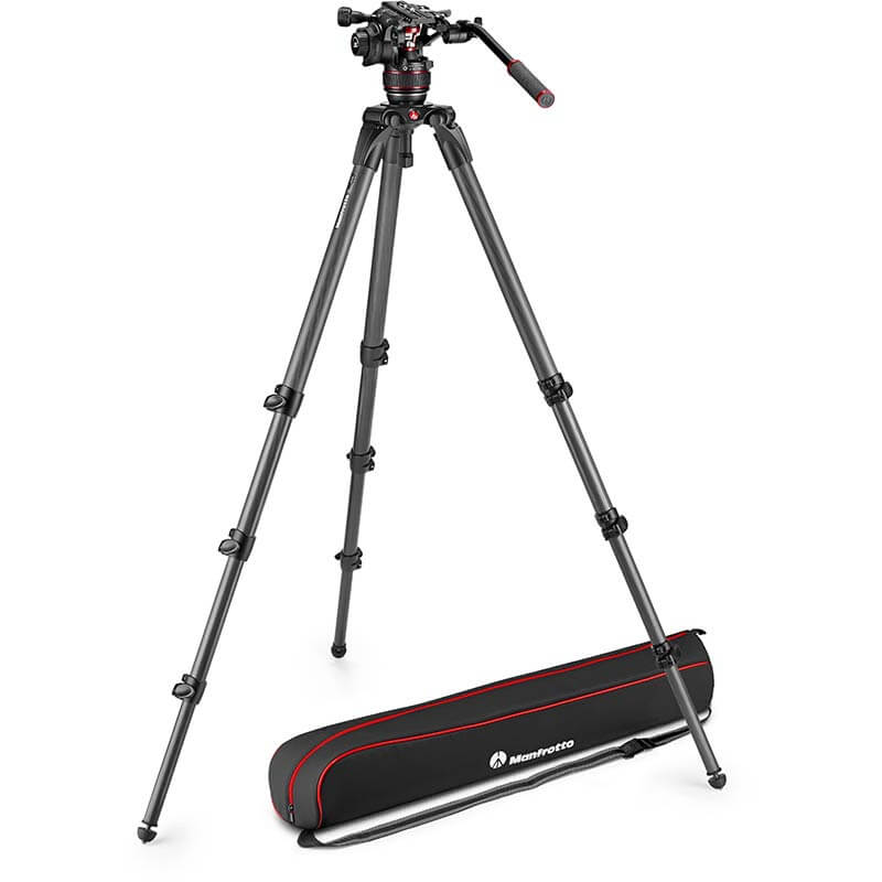 Manfrotto Nitrotech 608 Fluid Video Head | 536 Tripod