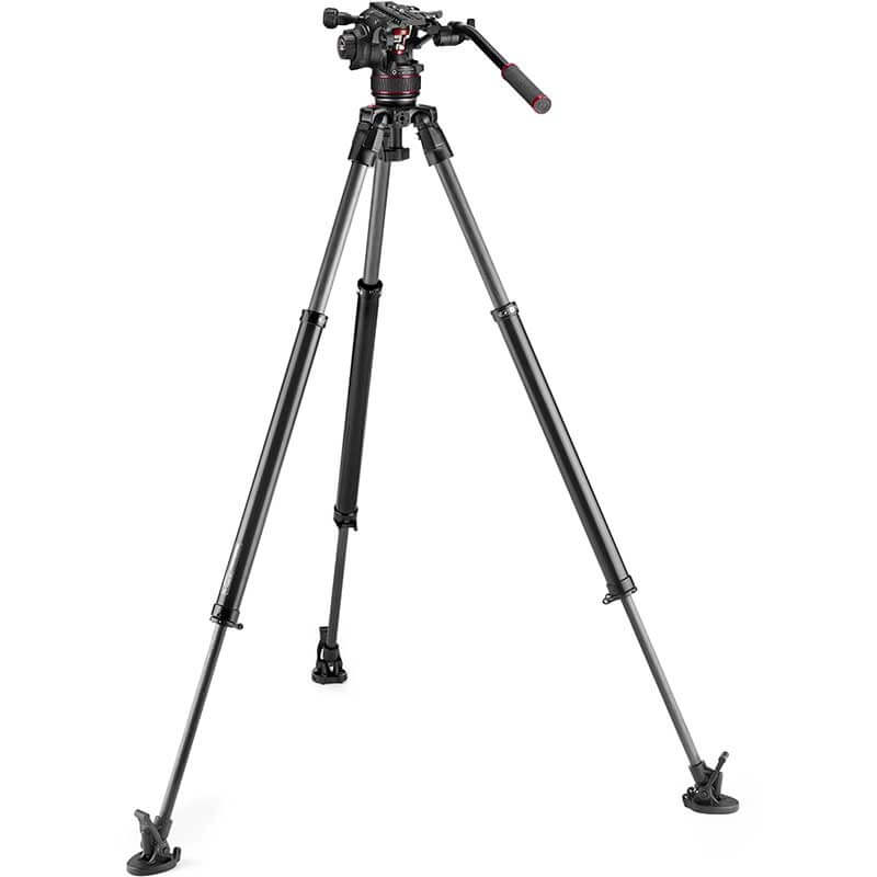 Manfrotto 635 FST Tripod with Nitrotech 608 Video Head