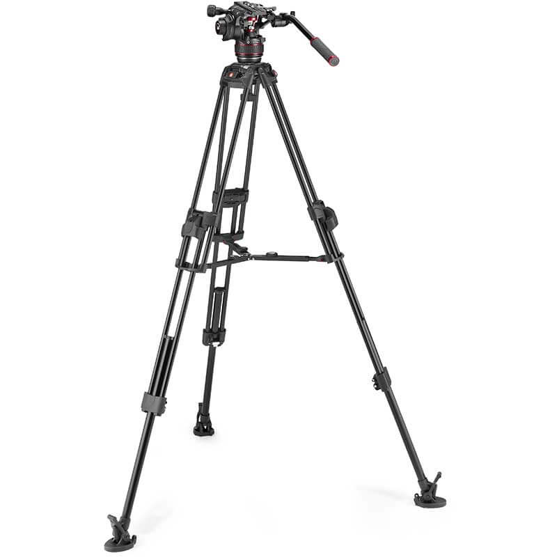 Manfrotto 645 FTT Tripod with Nitrotech 608 Video Head