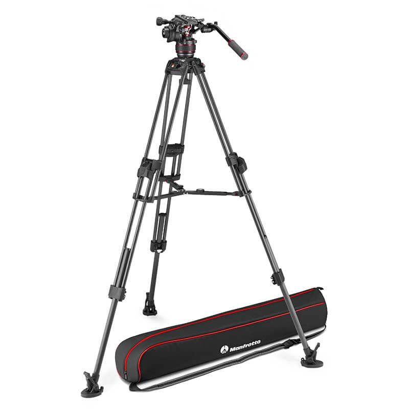 Manfrotto 645 FTT Carbon Tripod with Nitrotech 608 Video Head