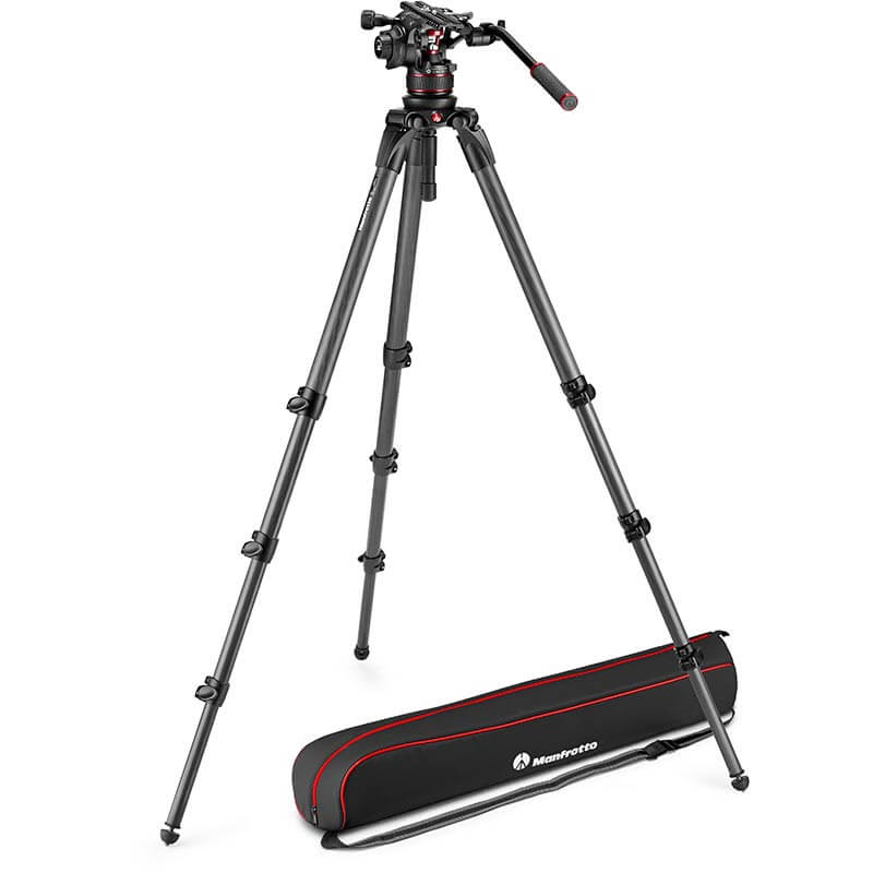 Manfrotto Nitrotech 612 Fluid Video Head | 536 Tripod