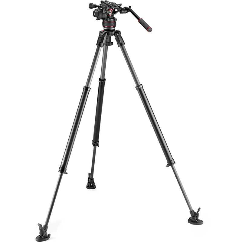 Manfrotto 635 FST Tripod with Nitrotech 612 Video Head
