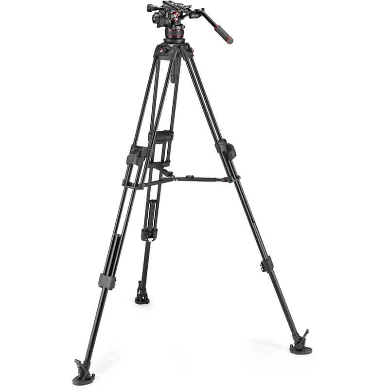 Manfrotto 645 FTT Tripod with Nitrotech 612 Video Head