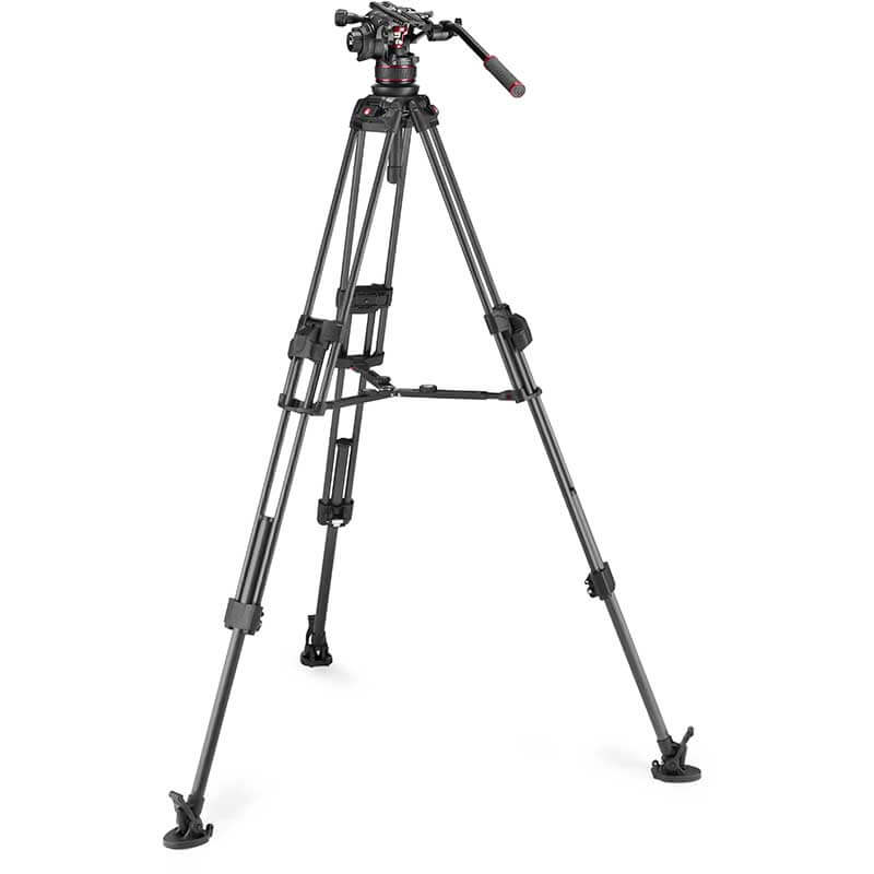 Manfrotto 645 FTT Carbon Tripod with Nitrotech 612 Video Head