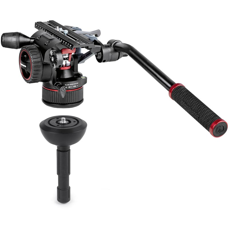 Manfrotto Nitrotech N12 | CF Tall Single Legs Tripod