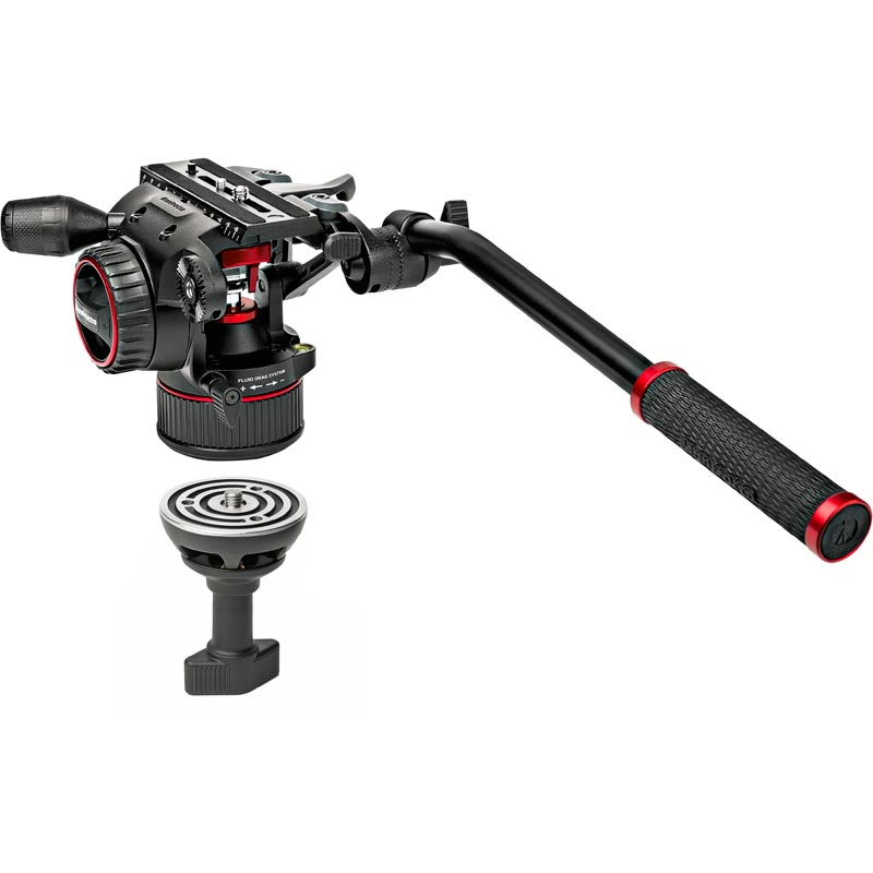 Manfrotto Nitrotech N8 Video Head | 546GB Tripod