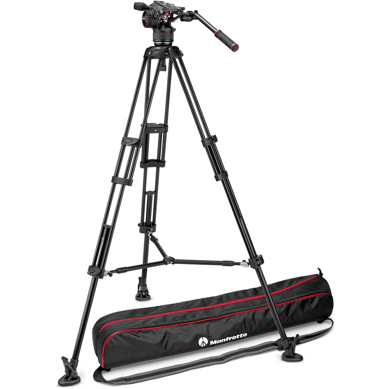 Manfrotto Nitrotech N8 Video Head | 546B Tripod