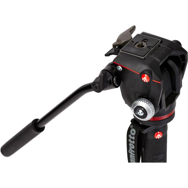 Manfrotto XPRO 4 Section Video Monopod 2W