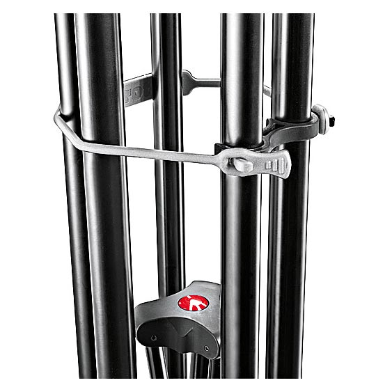Manfrotto Video Tripod Telescopic Twin