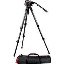 Manfrotto Midi CF System 535 Tripod | 504HD Video Head