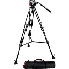 Manfrotto Midi 546B Twin Leg Tripod | 504HD Video Head