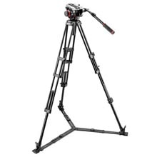 Manfrotto Midi Twin System Tripod | 504HD Video Head