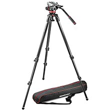 Manfrotto Single Legs Video System - Carbon