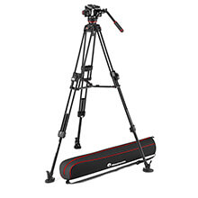 Manfrotto 504X Fluid Video Head | 645 FTT Alu Tripod