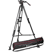 Manfrotto Nitrotech N12 | Twin Leg Tripod - Middle