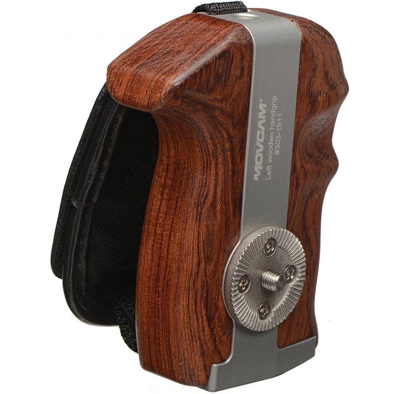 Movcam Wooden  Handgrip - Left Side