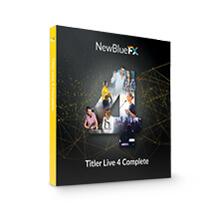 NewBlue Titler Live 4 Complete