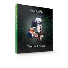 NewBlue Titler Live 4 Present