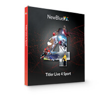 NewBlue Titler Live 4 Sport