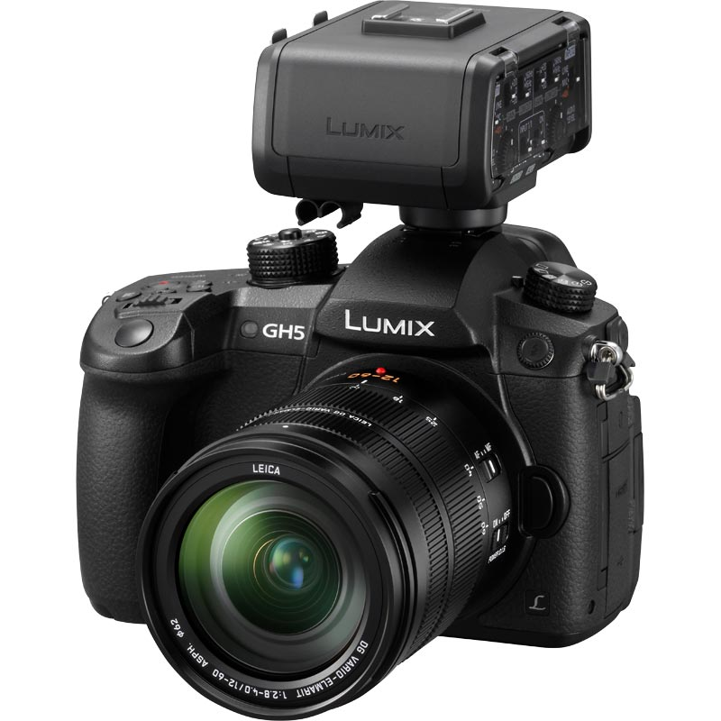 Panasonic LUMIX DC-GH5 - DMW-XLR1 Bundle