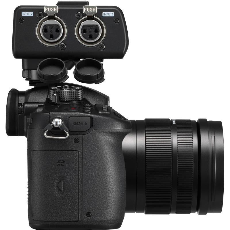 Panasonic DC-GH5 - DMW-XLR1 Bundle