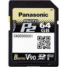 Panasonic AJ-P2M064BG