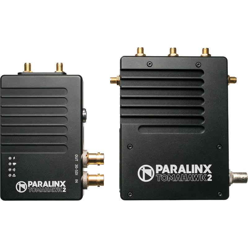 Paralinx Tomahawk2 SDI | HDMI System 1:2 Deluxe Kit - Gold Mount